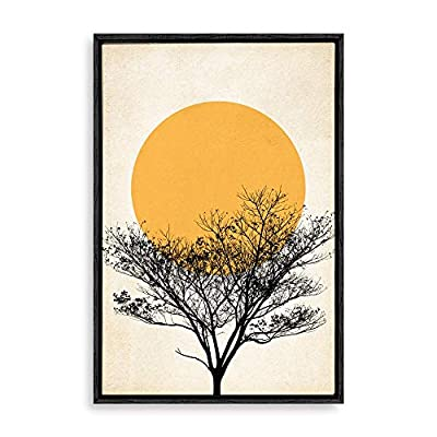 Framed Home Artwork Nordic Style Mo for Living Room Bedroom, Made With Love, Handsome Design