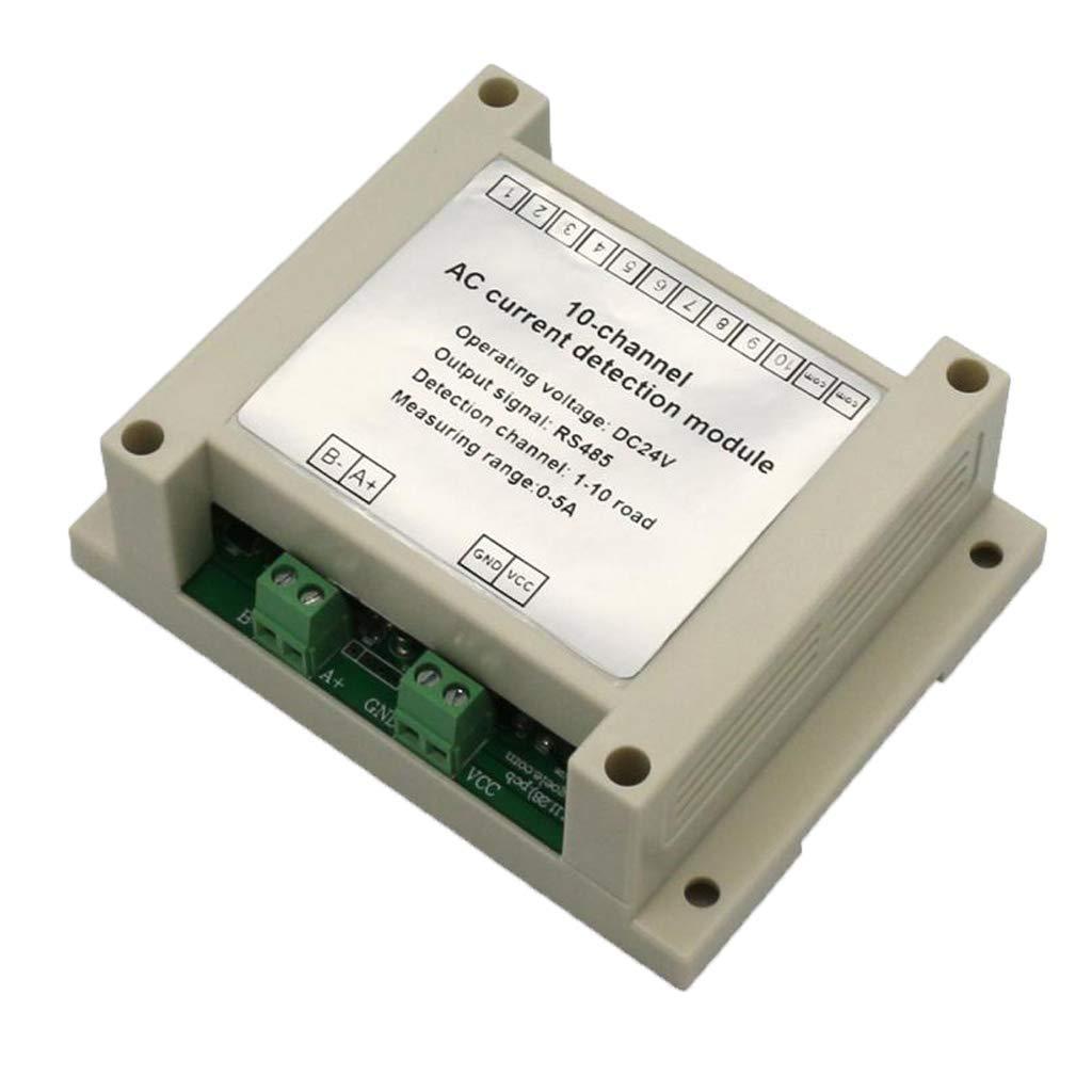 nouler Juler 24V Multi-Channel Ac Current Detection Module Full Range Linear Adjustable Ac Power Switch Output with Base by nouler