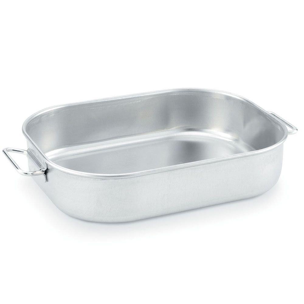 Vollrath 68251 Wear-Ever Aluminum 11.13 Quart Baking / Roasting Pan