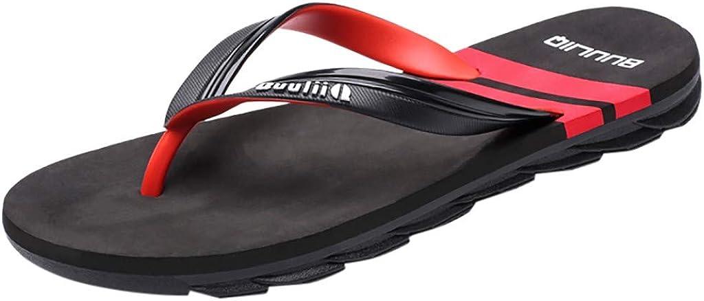 Sunenjoy Tongs Hommes Femme Sandales Antid/érapant /ét/é Pantoufles Flip Flops Chaussures de Plage Piscine Bain Gar/çon Slipper Plates Mode Casual Outdoor