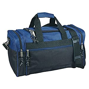"""17"""" Blank Duffle Bag Duffel Travel Camping Outdoor Sports Gym Accessories Bag"""
