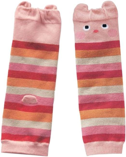 Shouhengda Toddler Girl Boy Striped Printed Leg Warmers Cute Socks