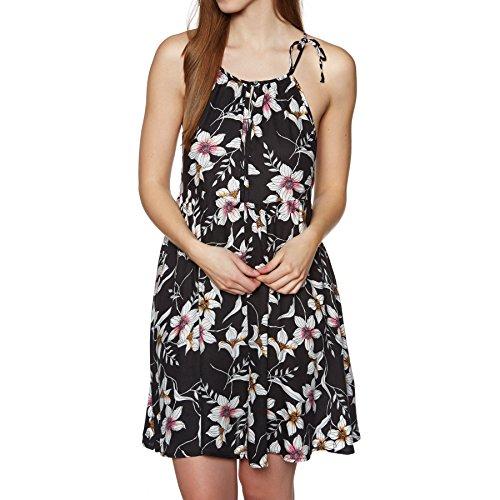 w aop High pink Kleid black 2 Beach Kleid Neck O'Neill nxE8w10YqI