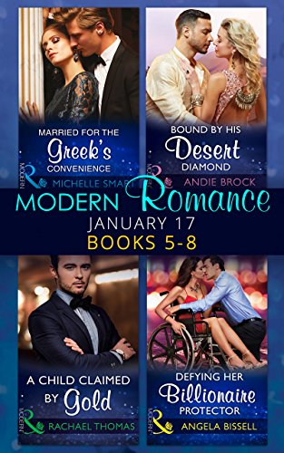 book cover of Modern Romance January 2017 Books 5 - 8