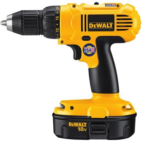 028877475233 - DEWALT DC759KA 18-Volt NiCad 1/2-Inch Cordless Drill/Driver Kit carousel main 1