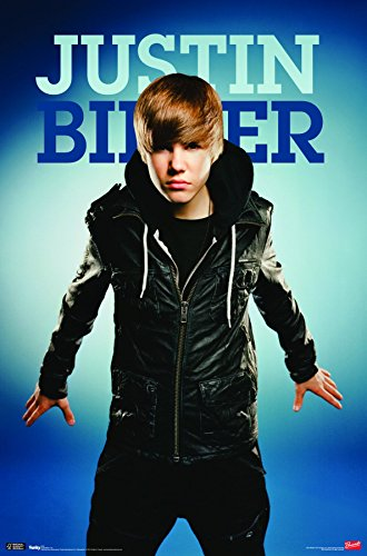 Trends International Justin Bieber Fly Wall Poster 22.375