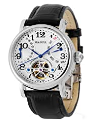 Seagull Fully Automatic Self Winding Men's Wrist Watches M171s Sapphire Date Day Flywheel by Seagull