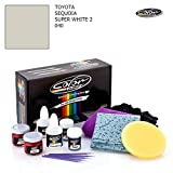 super white car paint 040 - TOYOTA SEQUOIA / SUPER WHITE 2 - 040 / COLOR N DRIVE TOUCH UP PAINT SYSTEM FOR PAINT CHIPS AND SCRATCHES / PRO PACK