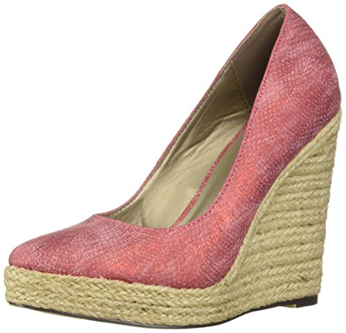 Michael Antonio Women's Anabel-SNK Wedge Sandal red 9 M US from Michael Antonio