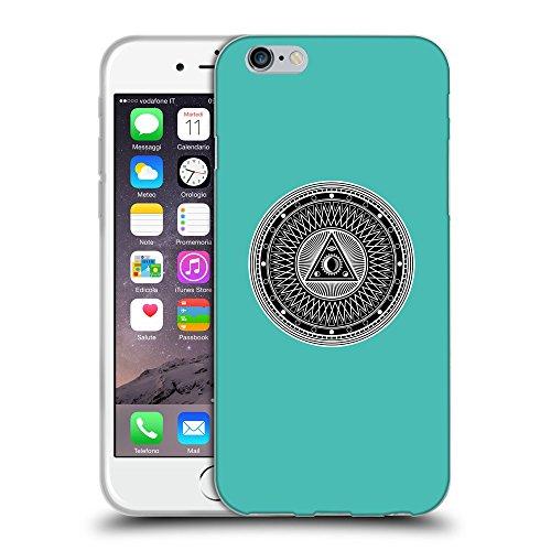GoGoMobile Coque de Protection TPU Silicone Case pour // Q08220634 Mystique occulte 1 Turquoise // Apple iPhone 7