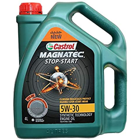 Castrol Engine Oil 5W30 Magnatec 4 Litter Gallon