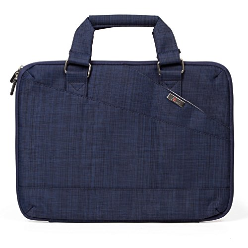 UBORSE Multifunctional Sleeve Briefcase Handbag Case Cover for 12.9 - 13.3 Inch Laptop, Notebook, MacBook Air/Pro, Blue