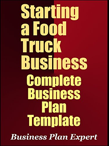 Amazon starting a food truck business complete business plan starting a food truck business complete business plan template by expert business plan cheaphphosting