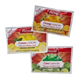 Royal Assorted Citrus Sugar Free Gelatin, 2.7 Ounce - 18 per case.