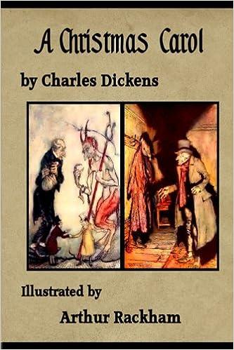 A Christmas Carol Illustrated By Arthur Rackham Dickens Charles Rackham Arthur 9781975839222 Amazon Com Books