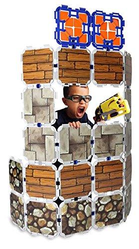 Battle Universe: Bunker Builder - 71 Piece Bundle for Big Bunker and Target Building by Blaster Boards