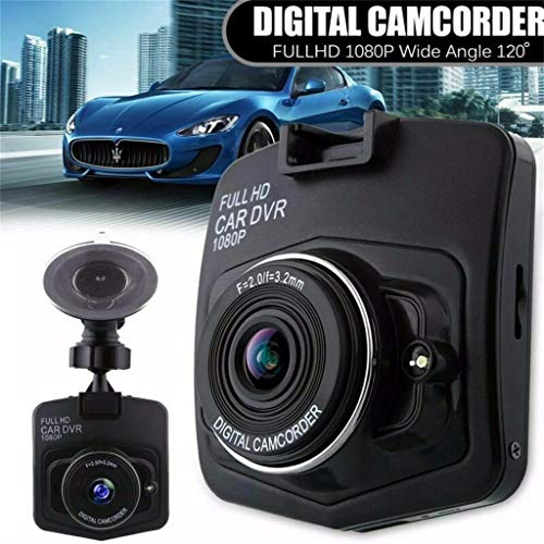 Full HD 1080P Car DVR Vehicle Camera Video Recorder Cam with 3.0 Inch LTPS Screen - 170 Grade High-Resolution Ultra Wide-Angle Len - Loop Recording - WDR (Black)