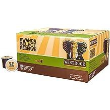 Westrock Coffee Company Rwanda Select Reserve Best Dark Roast Gourmet Single Serve Cups, 80 Count