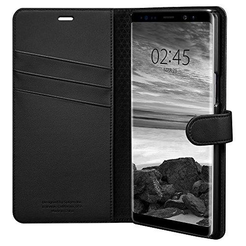 Spigen Wallet S Designed for Samsung Galaxy Note 8 Case (2017) - Black