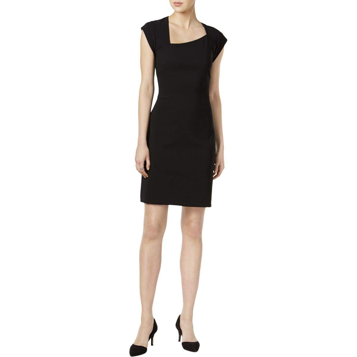 Deepblack Bar III Womens Asymmetrical Above Knee Cocktail Dress