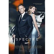 "SPECTRE - Movie Poster (24"" x 36"") Glossy Finish (Thick, 8mil): Daniel Craig, Monica Belluci, Lea Seydoux"