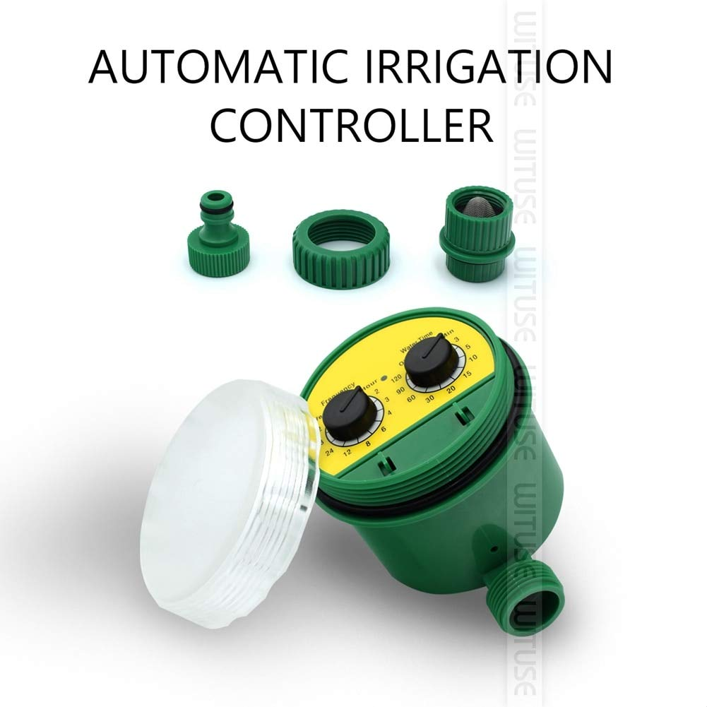 Amazon.com : ReeeR Automatic Irrigation System DIY Water Sprinkler Drip Timer Garden Plant Care Fountain Watering Kits with Adjustable Drippers : Garden & ...