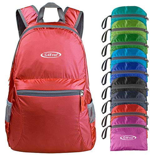 G4Free Ultra Lightweight Packable Backpack Hiking Daypack,Handy Foldable
