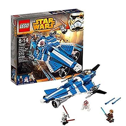 Amazoncom Lego Star Wars 75087 Anakins Custom Jedi Starfighter