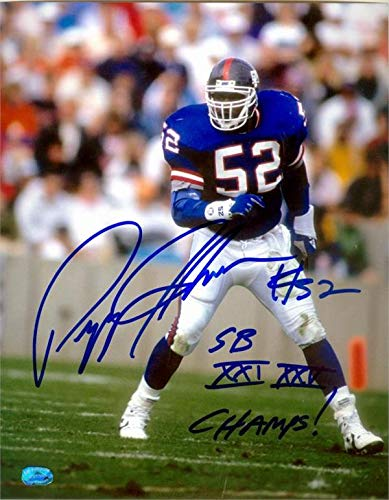 776257c61 Image Unavailable. Image not available for. Color: Pepper Johnson  autographed photo (New York Giants ...