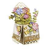 Spellbinders Shapeabilities Pop Up Box Embellishment, Scalloped-S5-233