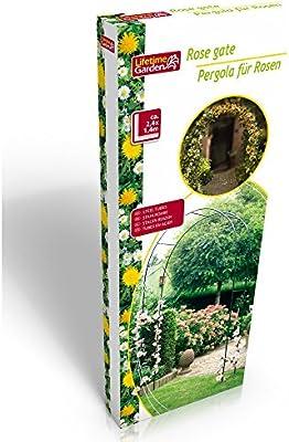 Arca de jardín arco arcade jardín color de rosa: Amazon.es: Hogar