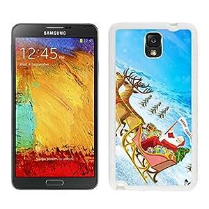 Recommend Design Santa Claus White Samsung Galaxy Note 3 Case 28