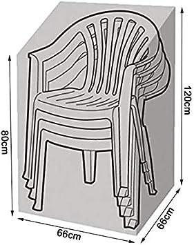 Waterproof Anti-UV 600D Oxford Fabric Reclining Garden Chair Cover 65x65x120//80cm BLGCC65-BK PATIO PLUS Garden Stacking Chair Cover