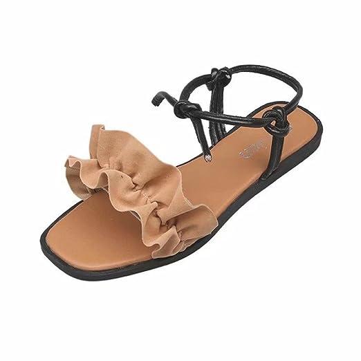 f9b5e0d1cf4b DENER Womens Ladies Girls Summer Flat Sandals