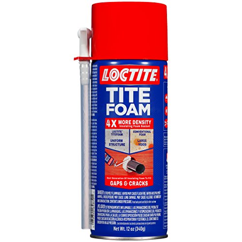 Loctite TITEFOAM Insulating Foam Sealant, One 12 Ounce Can (1988753) - Foam Spray