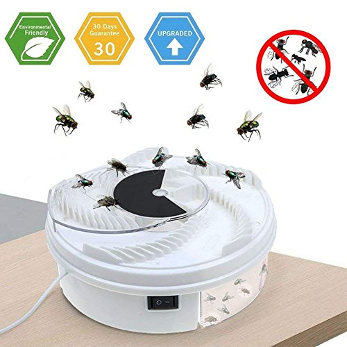 LENKA Electric Fly Trap Device - USB Powered Fly Catcher - Fly Insect Killer for IndoorOutdoor Use by LENKA