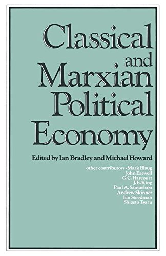 Classical and Marxian Political Economy: Essays in Honour of Ronald L. Meek