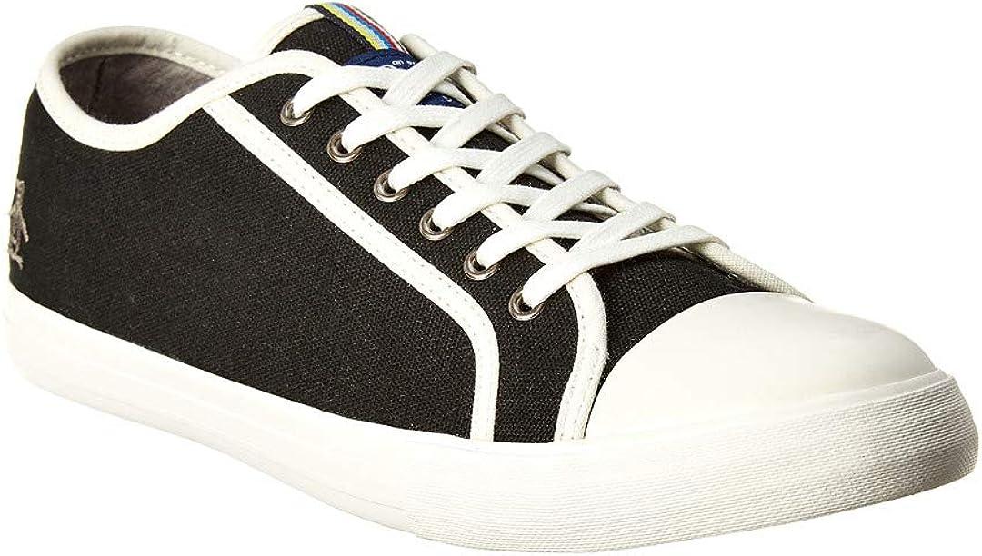 9 Black Original Penguin Mick Canvas Sneaker