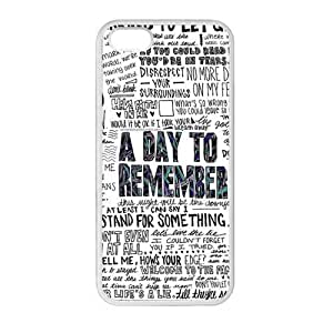 Case for iPhone5c, 5c Punk Band A Day To Remember Personalized Custom Durable Protector