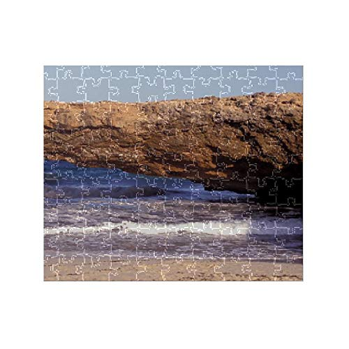 Media Storehouse 252 Piece Puzzle of Caribbean, Aruba. Natural Bridge (11095784)