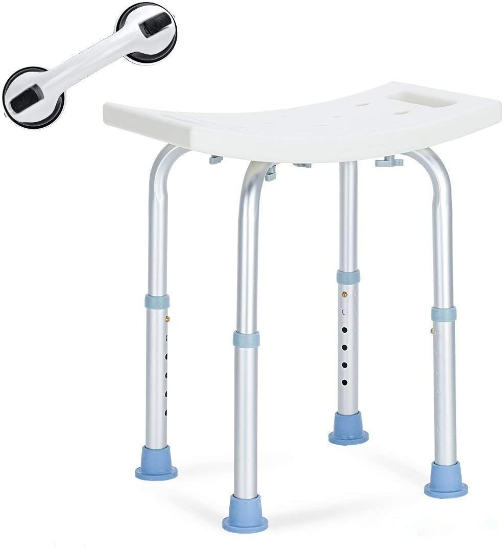 OasisSpace Shower Chair Adjustable Bath