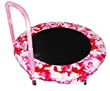 Bazoongi Bouncer Trampoline, 48-Inch, Camouflage Pink