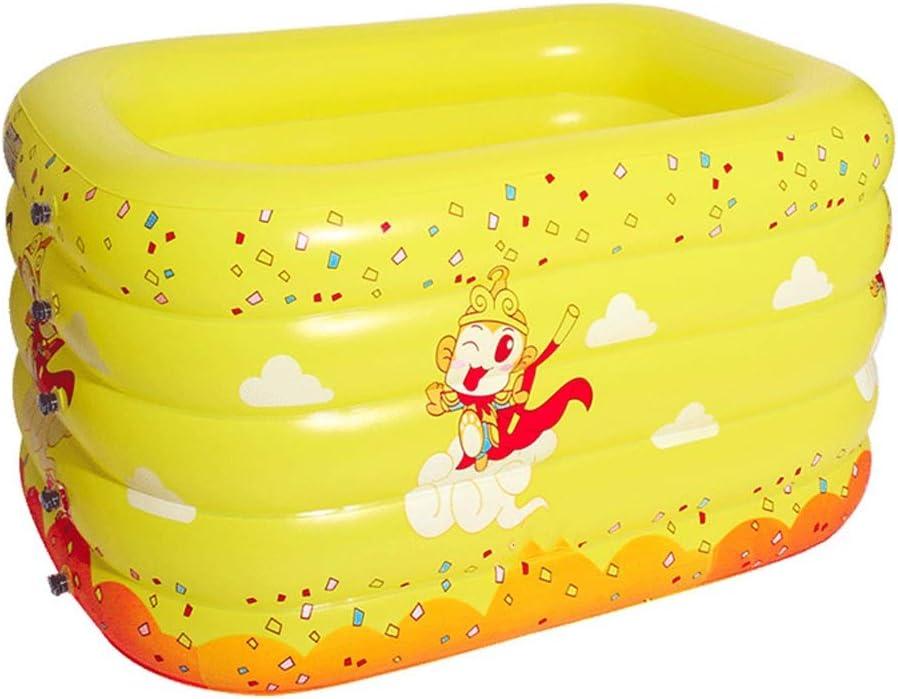 Zhongxingenggeng Piscina Hinchable for niños Espesamiento de la Familia Piscina for niños for Adultos Piscina for niños Piscina de Bolas Marinas Acolchado for Mantener el Calor