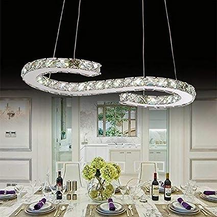 de lujosas Modernas las de Que araña BCX lámparas Cristal kuOZPXiT
