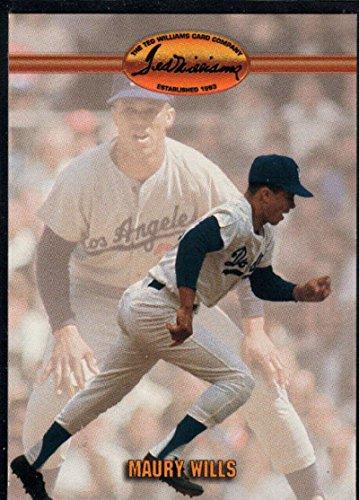 d Williams #17 Maury Wills NM-MT Dodgers ()
