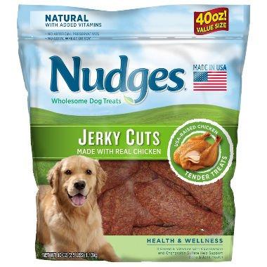 Nudges Chicken Jerky Cuts, 40 oz. - Good Dog Treats Chicken