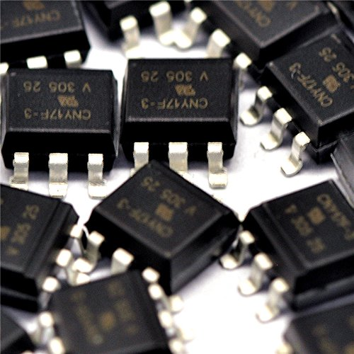SOP6 opto isolator SMD Quickbuying CNY17-3 optocoupler opto electronic coupling 5pc