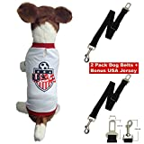 Dog Safety Seat Belt-2 Pack-adjustable and Durable- Nylon Strap- Keep Your Dog Safe While Traveling in Your Car. Review