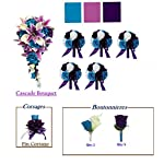 Angel-Isabella-Silk-Flower-Wedding-Package6-Bouquets6-Boutonneires2corsages