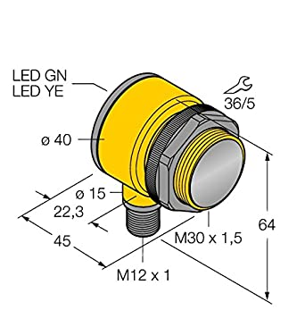 3033436 de t30sp6ff200q, Opto sensor Reflexion Lic httaster: Amazon.es: Industria, empresas y ciencia